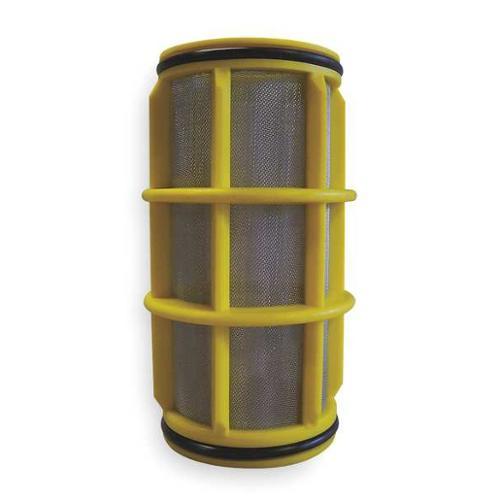 AMIAD 11-1203-1010 Filter Screen, Yellow, 5 In L, Dia 2 In