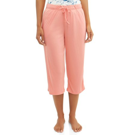 Gloria Vanderbilt Women's and Women's Plus Knit Sleep Capri