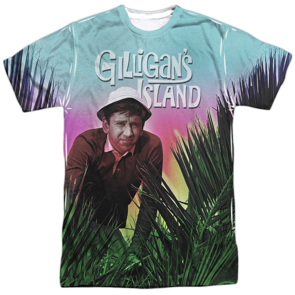 Gilligans Island Little Buddy Mens Sublimation Shirt