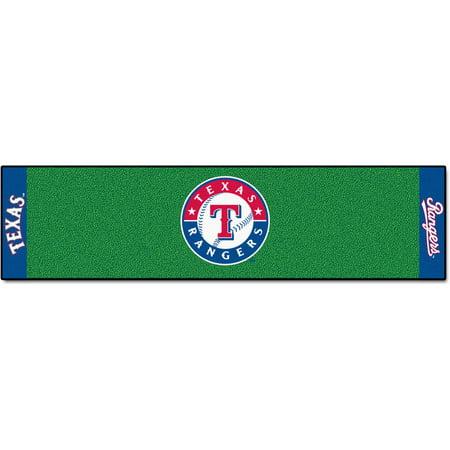 FanMats MLB Texas Rangers Putting Green Mat