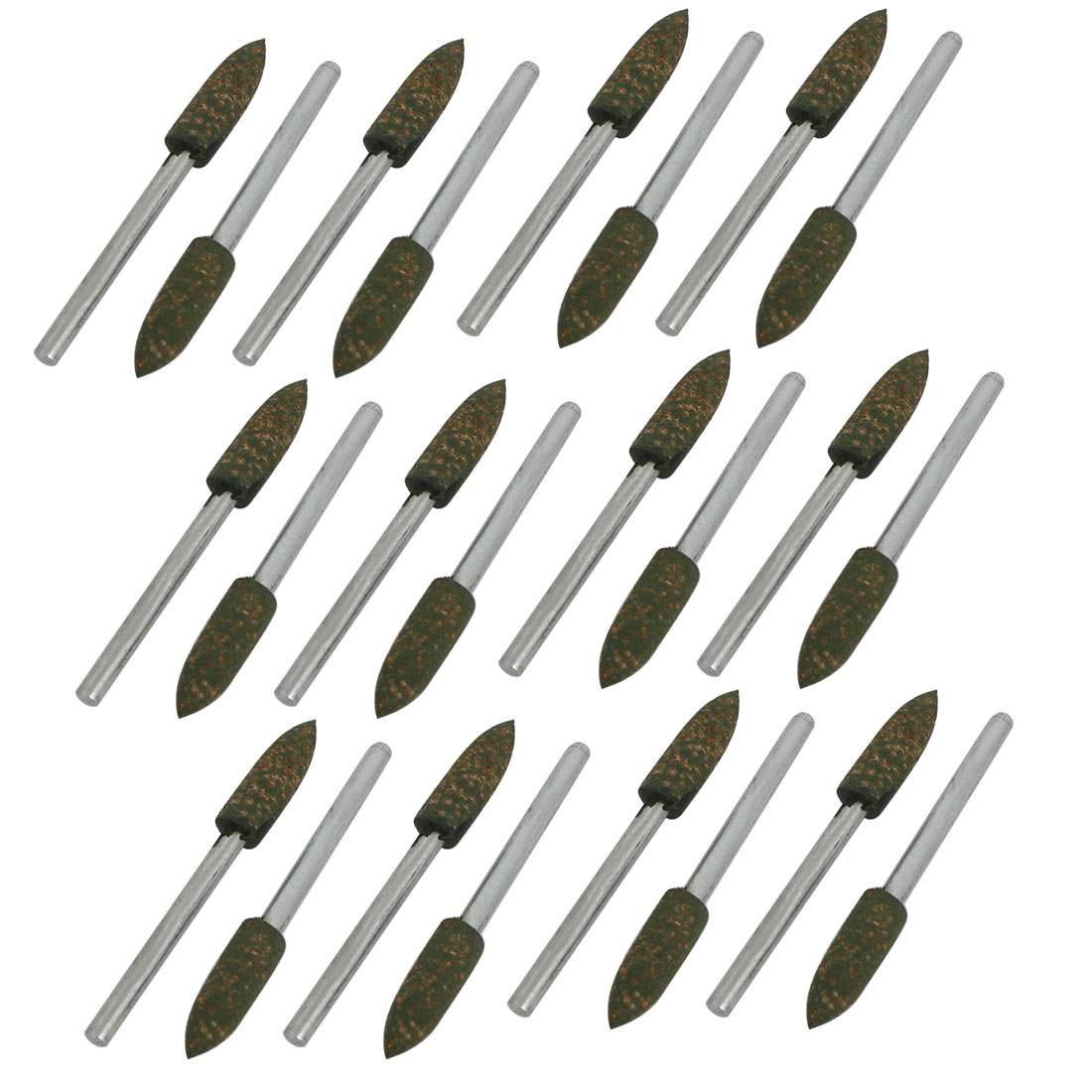3mm Shank 5mm Cone Head Polishing Wheel Mandrel Mounted Grinding Point 24pcs by Unique-Bargains