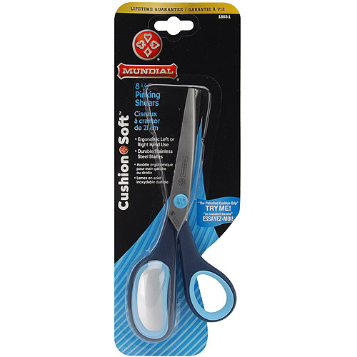 Cushion Soft Pinking Shears, 8-1/2""
