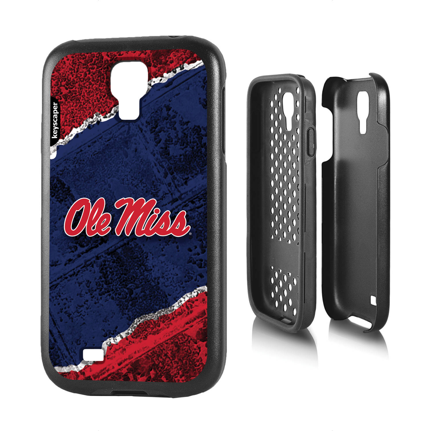 Mississippi Ole Miss Rebels Galaxy S4 Rugged Case