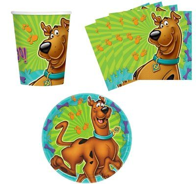 Scooby Doo Amscan Scooby-Doo Birthday Party Supplies Set ...