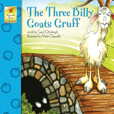 The Three Billy Goats Gruff (Tan Vintage Goat)