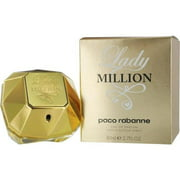 (pack 2) Lady Million Eau De Parfum Spray By Paco Rabanne2.7 oz