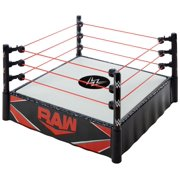 WWE Superstar Ring with Spring-Loaded Mat & Real Flex Ropes