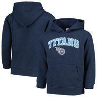 Youth Navy Tennessee Titans Team Fleece Pullover Hoodie