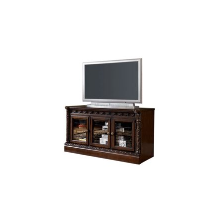 Signature Design by Ashley Furniture North Shore 51″ TV Stand in Brown