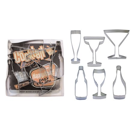 Beverages - Wine, Champagne, Martini, Margaritas, & Beer Cookie Cutter Set - 1978](Champagne Beverage)