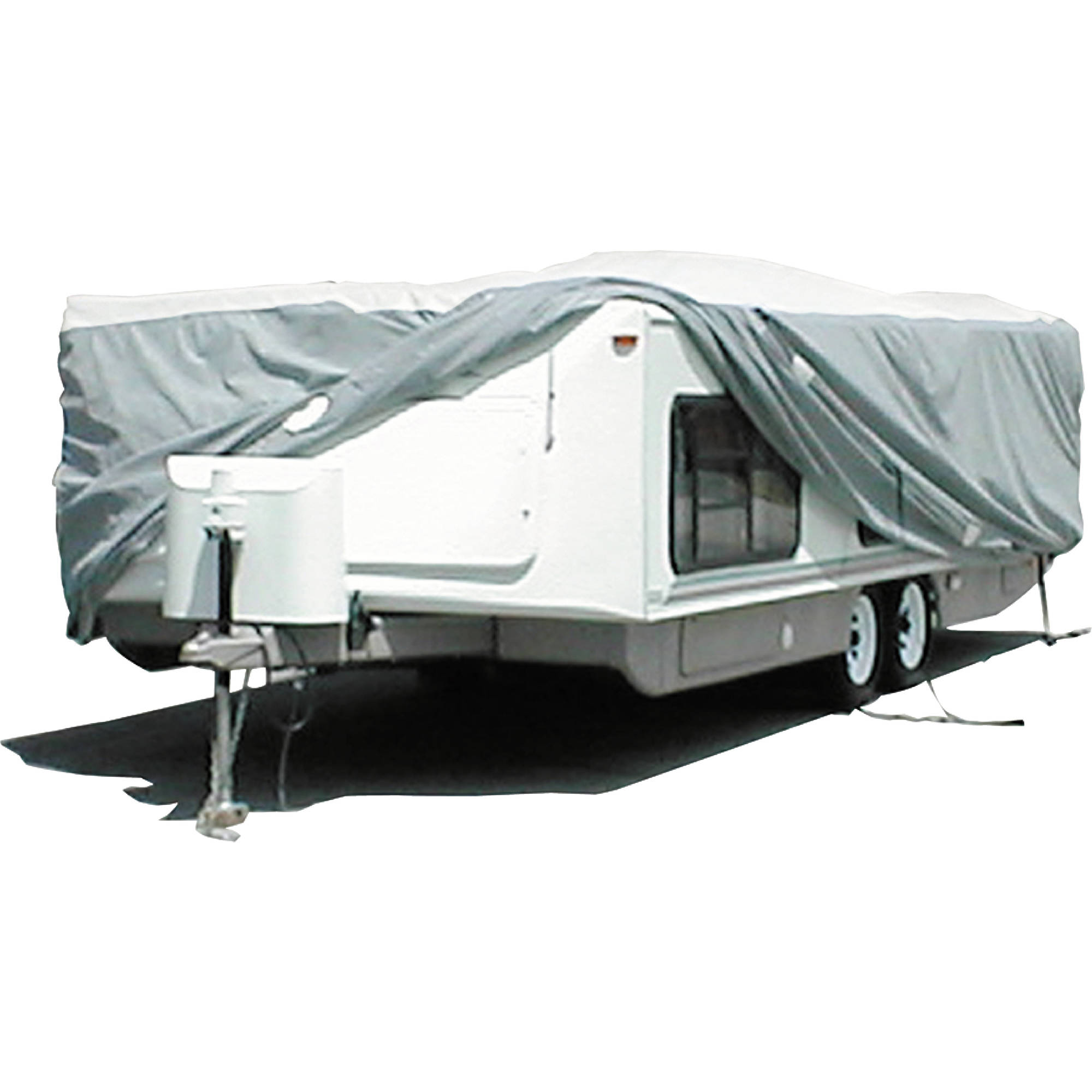 ADCO Hi-Lo Tyvek RV Cover, White Top/Gray Polypropylene Sides