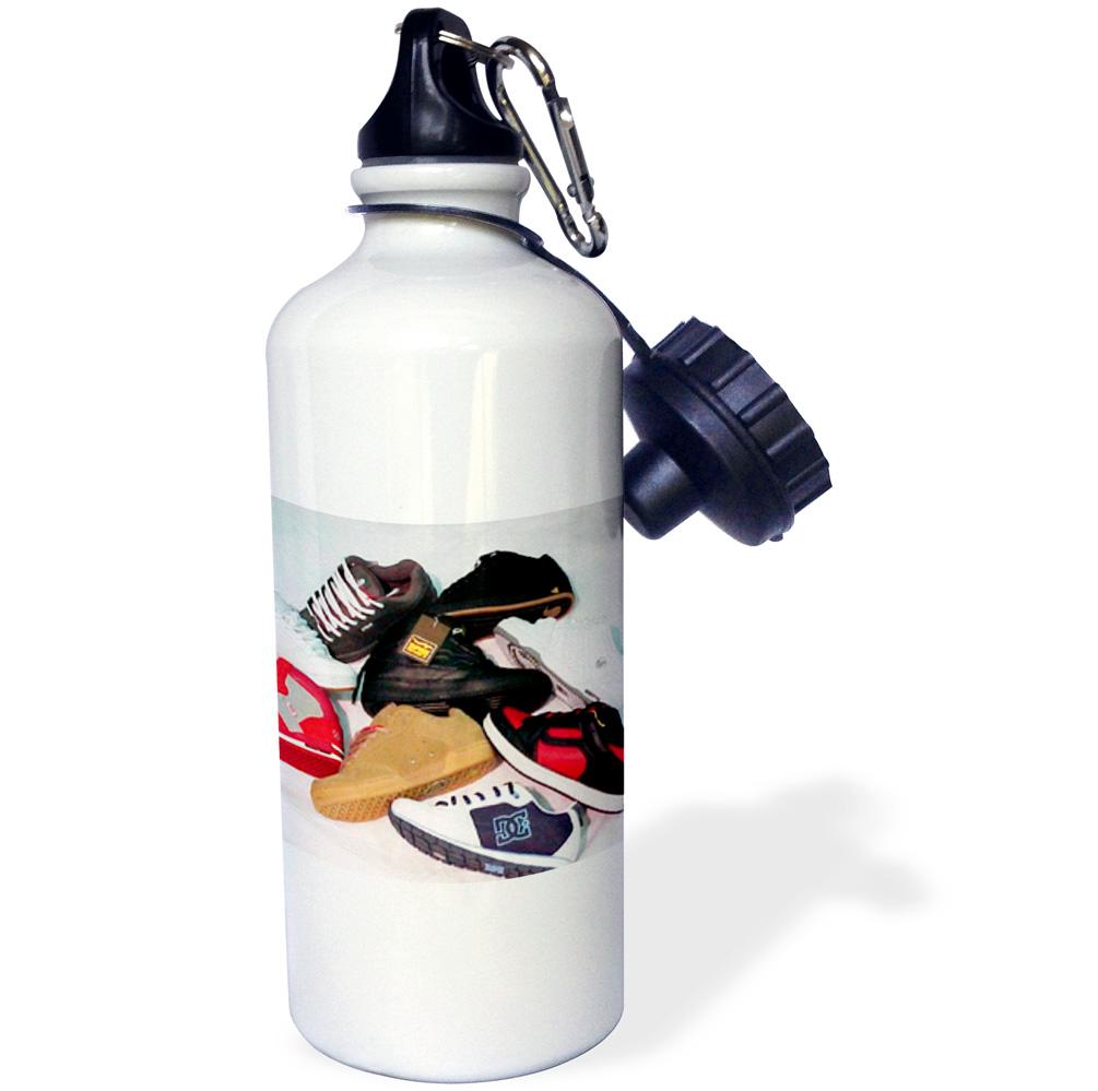 3dRose Skateboard Shoes, Sports Water Bottle, 21oz by Supplier Generic