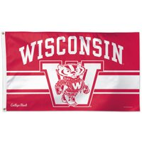 Wisconsin Badgers Throwback Vintage 3' x 5' Pole Flag