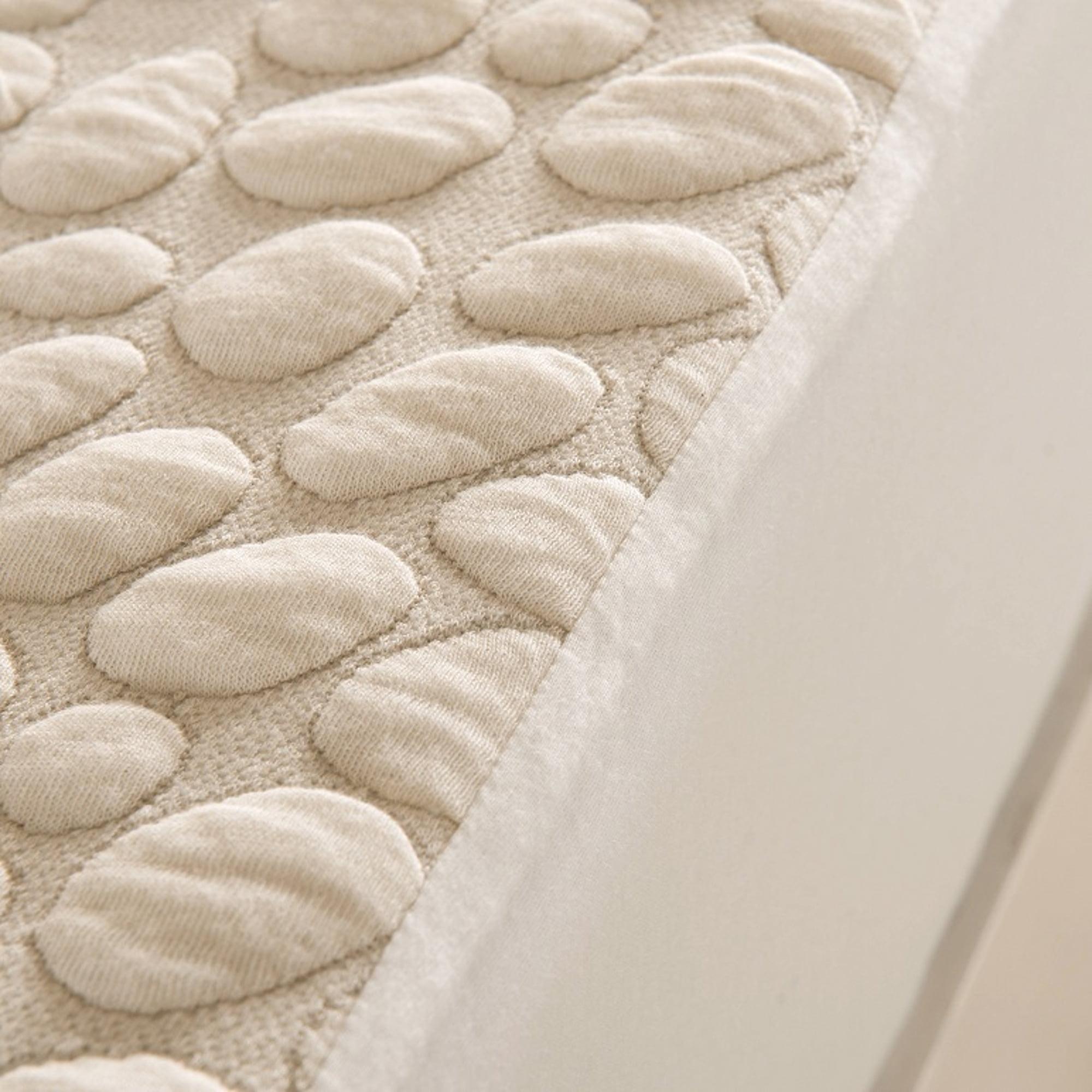 Dream Signature Collection Pebbletex Organic Cotton Mattress Protector