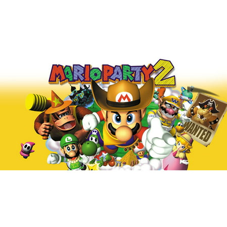 N64 Mario Party 2, Nintendo, WIIU, [Digital Download], 0004549666188