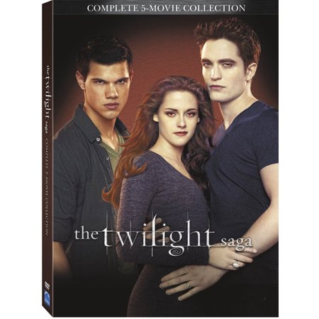 The Twilight Saga: 5 Movie Collection (DVD) - The Movie Minions