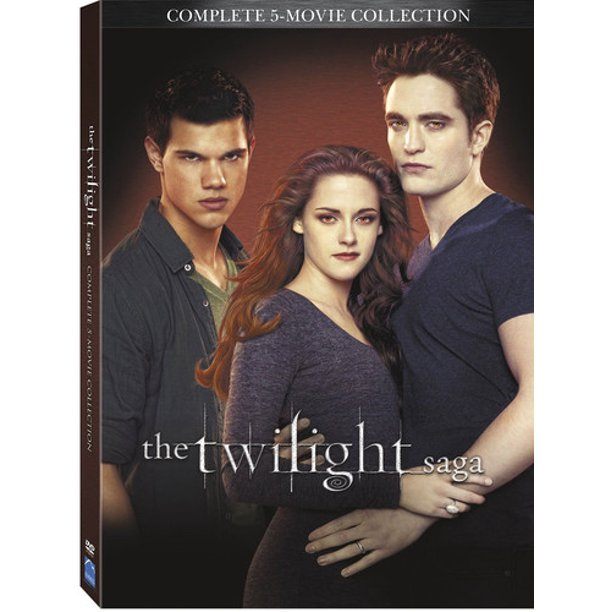 The Twilight Saga: Complete 5-Movie Collection (DVD)