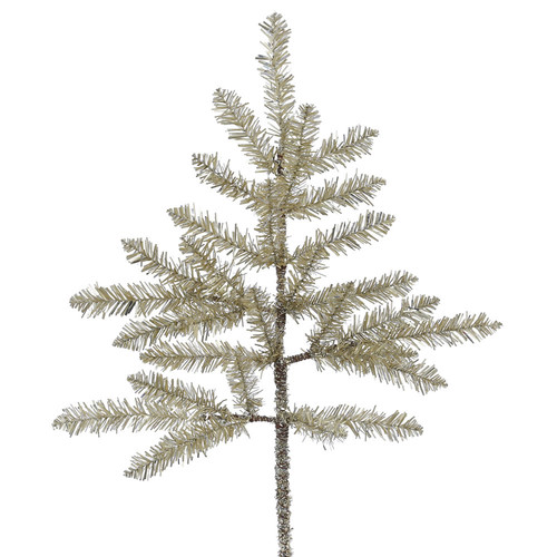 The Holiday Aisle Champagne Tinsel Stem