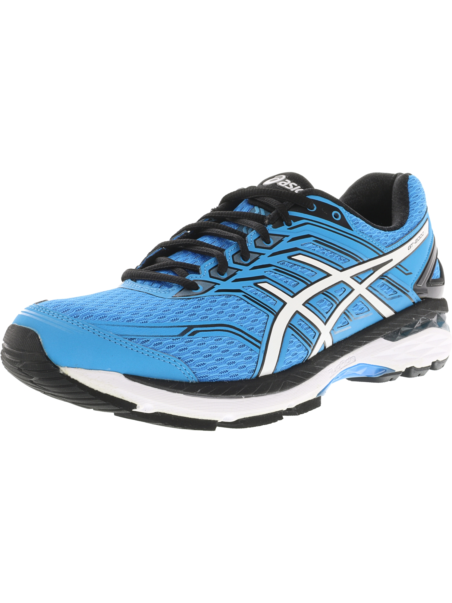 Asics Men's Gt 2000 5 Carbon Silver Island Blue Ankle High Running Shoe 8W