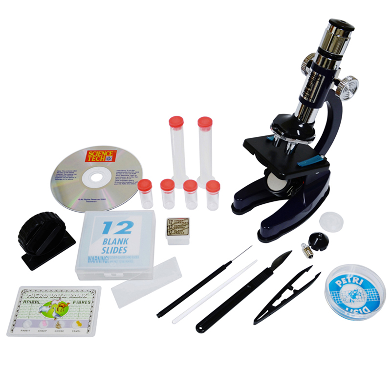 Elenco Science Tech Microscope Set with Carrying Case by Generic
