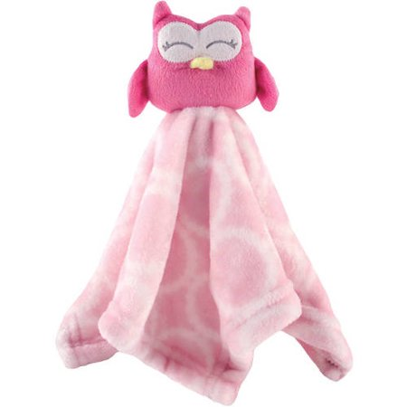 Hudson Baby Boy And Girl Security Blanket Pink Owl