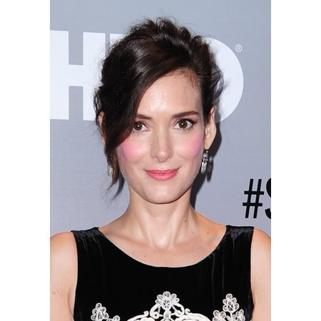 Winona Ryder At Arrivals For Show Me A Hero Miniseries Premiere On Hbo The New York Times Center New York Ny August 11 2015 Photo By Gregorio T Binuyaeverett Collection Photo Print