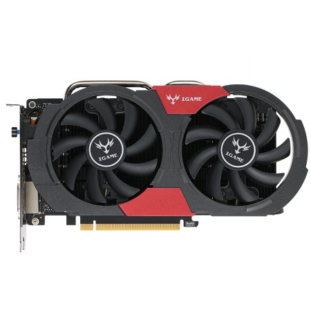 Colorful NVIDIA GeForce GTX iGame 1050Ti GPU 4GB 128bit Gaming 4096M GDDR5 PCI-E X16 3.0 Video Graphics Card DVI+HD+DP Port with Two Cooling (Best Gpu For 1440p Gaming)