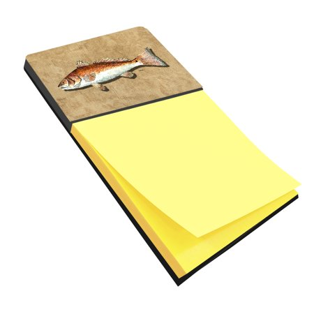 Red Fish Refiillable Sticky Note Holder or Postit Note Dispenser 8807SN for $<!---->