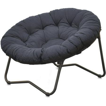 Sale mainstays folding papasan chair navy chair for Where to buy papasan chair