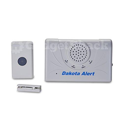 Dakota Alert 2500 Ft. Wireless Doorbell Set