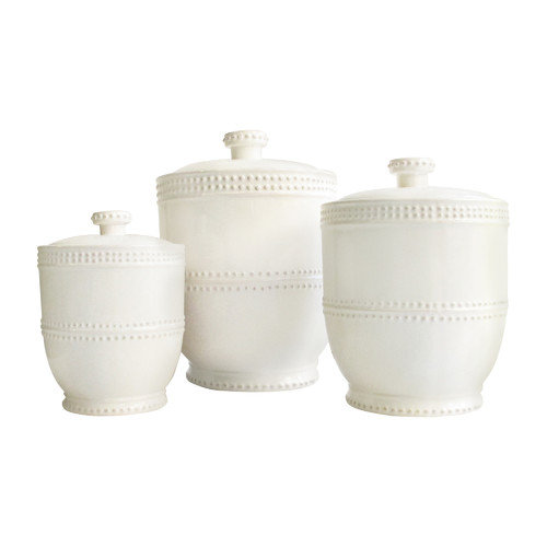 American Atelier Bianca 3 Piece Canister Set