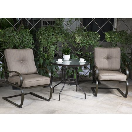 Cloud Mountain Bistro Table Set Outdoor Bistro Set Patio Furniture ...