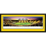Blakeway Worldwide Panoramas, Inc NCAA The University of Iowa - Spirit Week Deluxe Framed Photographic Print
