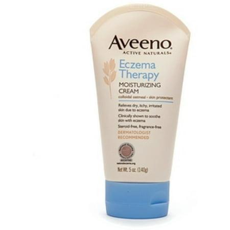 AVEENO Active Naturals Eczema Therapy Moisturizing Cream 5 oz (Pack of (Active Moisturizing Cream)