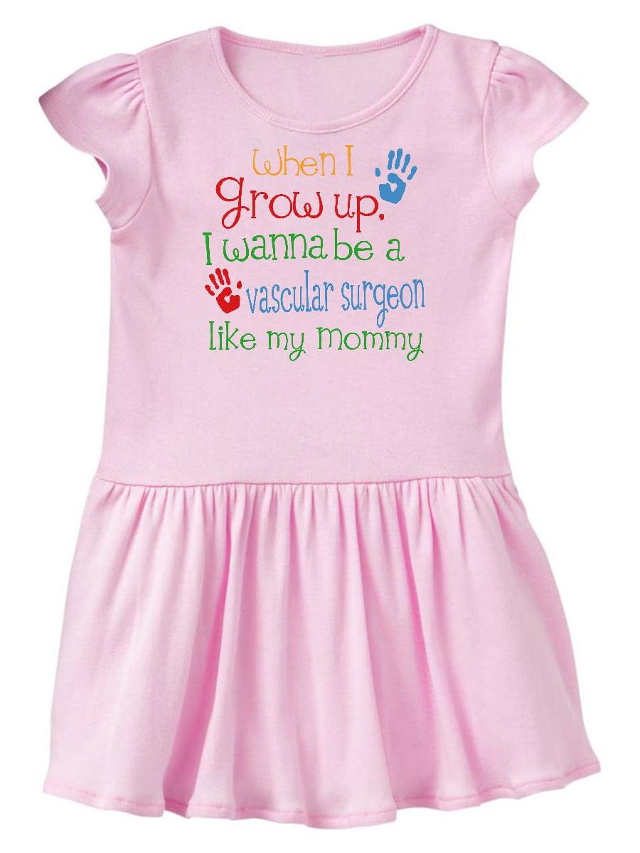 Vascular Surgeon like Mommy Toddler Dress