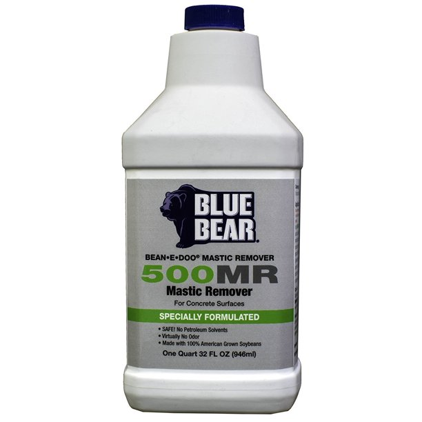 Blue Bear Bbim1qt 500mr Mastic Remover