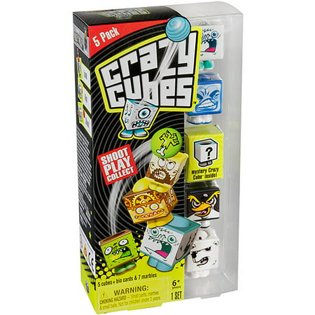 Crazy Cubes, Arctic Theme, Set of 5 - Tropical Themed Games