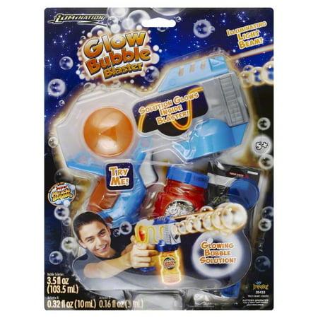Super Miracle Bubbles Glow Bubble Blaster
