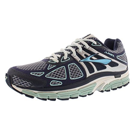 bd935fc2ddc Brooks Womens Ariel 14 Breeze Midnight Silver Shoe (7.5 B(M) US) -  Walmart.com