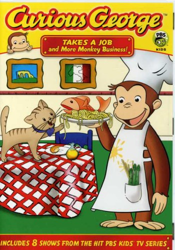 Curious George: Takes A Job & More Monkey Business (DVD) by UNIVERSAL HOME ENTERTAINMENT