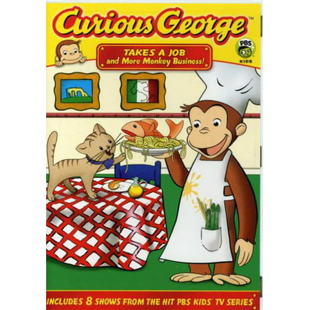 Curious George: Takes A Job & More Monkey Business (DVD) - Curious George Pbs Halloween Movie