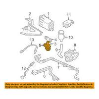 CHRYSLER OEM Emission-Solenoid Lower Bracket 5003974AA