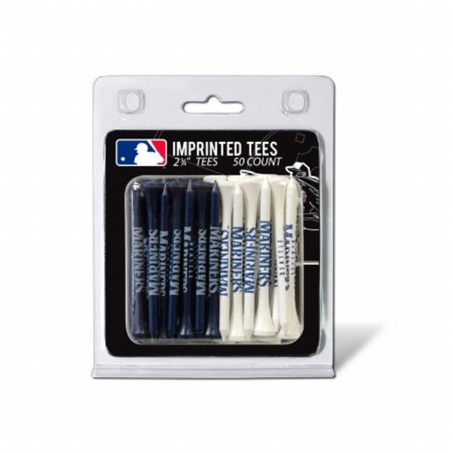 Team Golf 97455 MLB Seattle Mariners - 50 Tee Pk