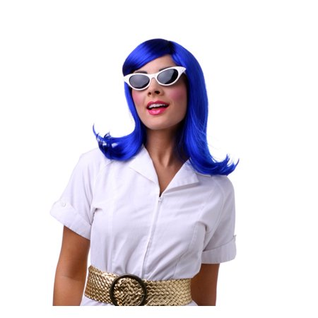 Womens Dark Blue Peggy Sue Halloween Costume - Navy Woman Costume