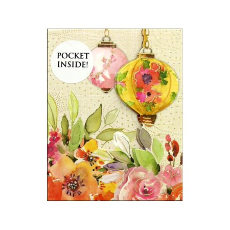 Punch Studio Note Pad Inside Pocket Lanterns