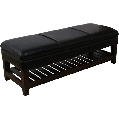 HomePop Kiki Storage Shelf Bench