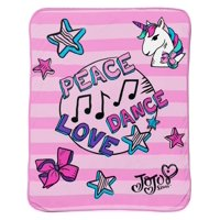 Nickelodeon JoJo Siwa Plush Throw, 1 Each