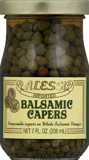 Alessi Balsamic Capers, 7.0 FL OZ by Vigo Importing Company