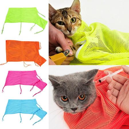 Pet Grooming Bag, Legendog Cat Bath Bag Adjustable Multifunctional Anti Scratch Mesh Cat Grooming Supplies Pet - Walmart Cat Supplies