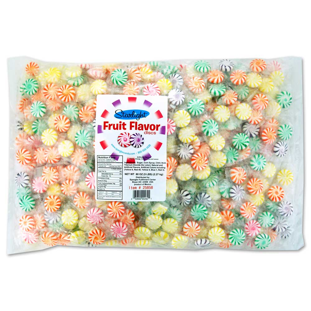 Starlight Fruit Discs 5 lb bag